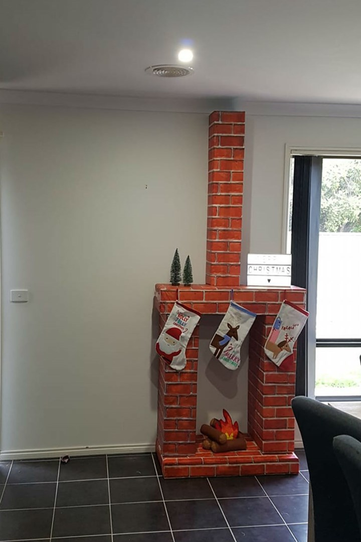 People Are Building 7 Diy Kmart Fireplaces For Christmas And We Can