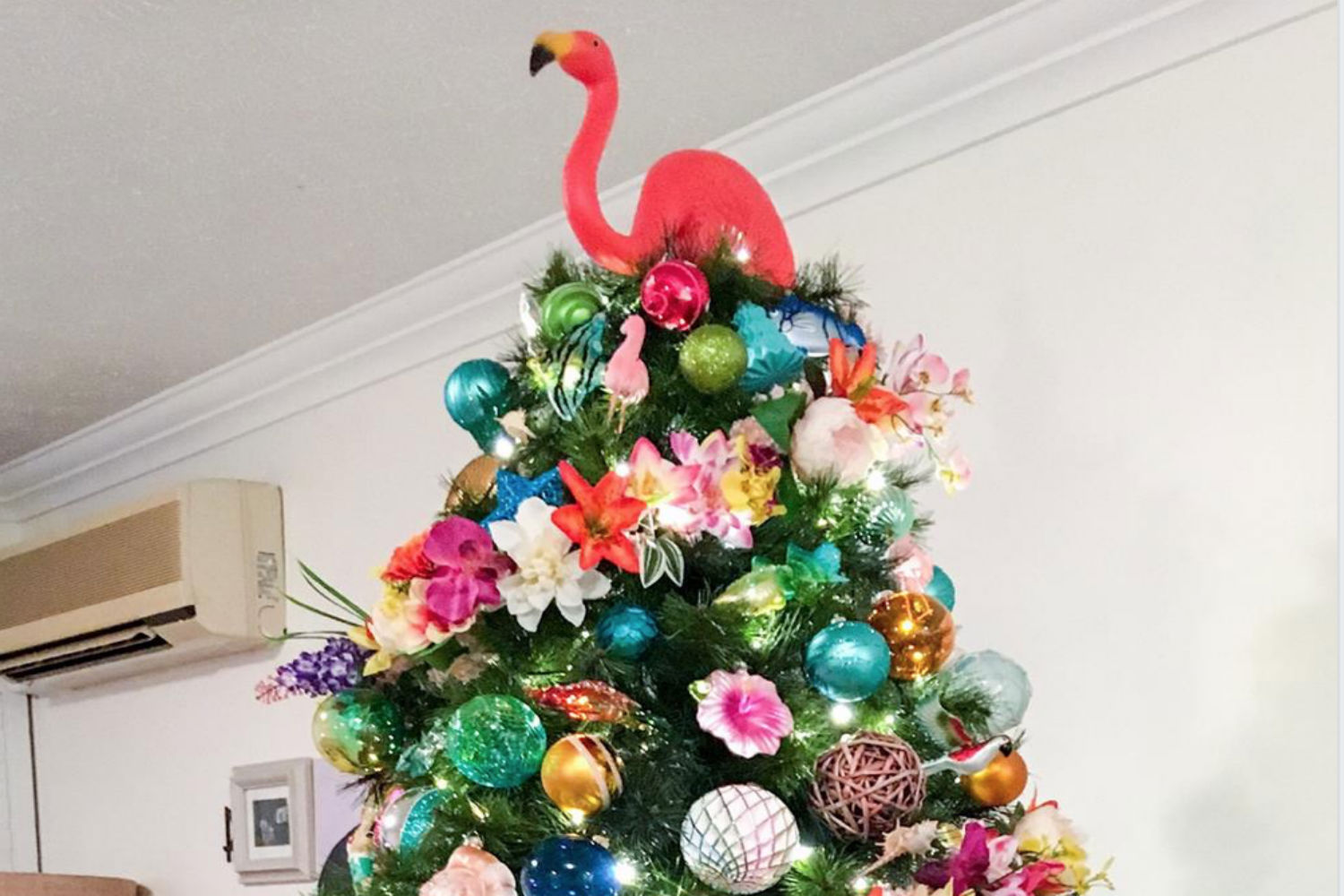 This Kmart Mum S Tropical Christmas Tree Has Stopped The