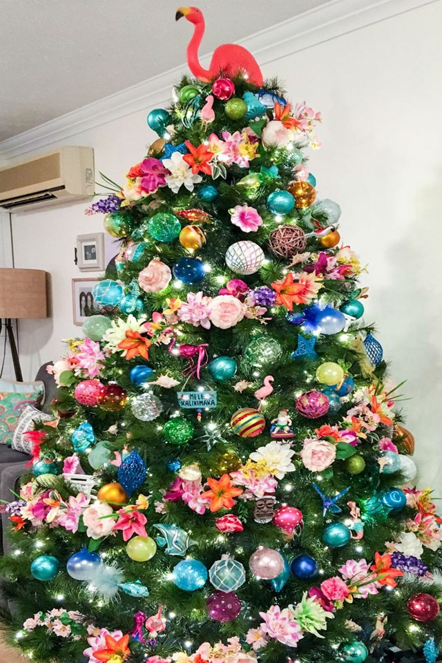 Kmart Christmas Trees.This Kmart Mum S Tropical Christmas Tree Has Stopped The