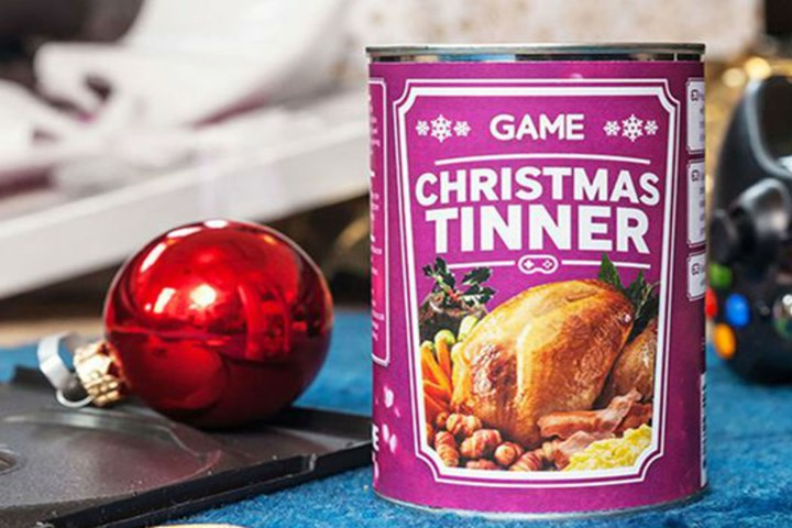 Christmas Dinner In A Can.Forget Cooking You Can Now Buy A 9 Course Christmas Meal