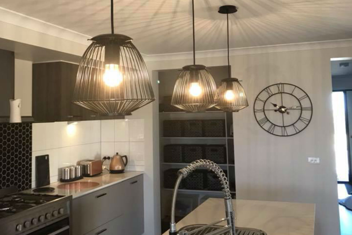 Can You Spot The 10 Kmart Hack In This Designer Kitchen