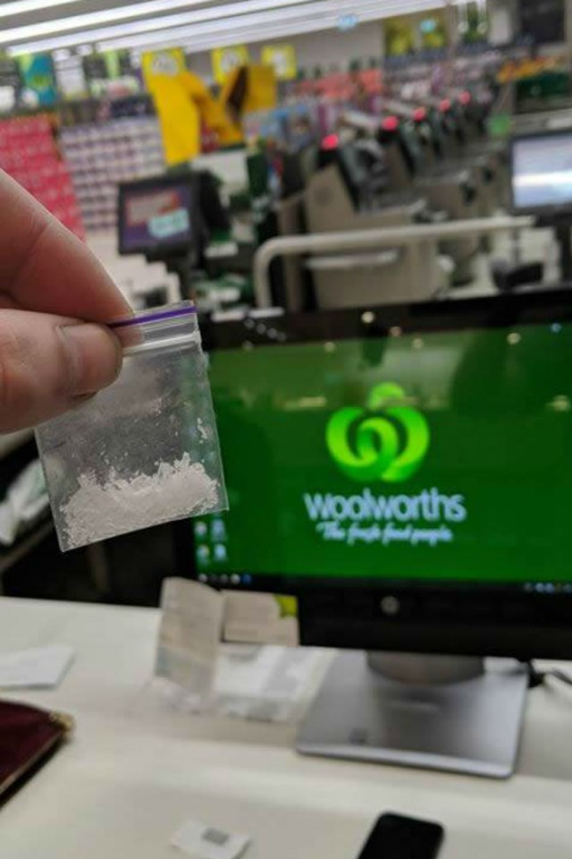 SHOCKING PHOTO: Man claims to find DRUGS at WOOLWORTHS | New