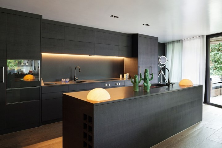 Black Kitchen Cabinets 14 Black Kitchen Designs New Idea Food