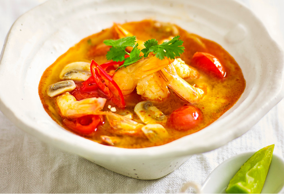 Prawn Tom Yum Soup Recipe New Idea Food