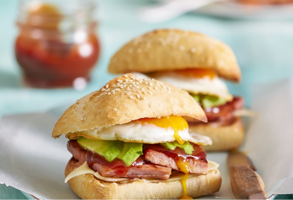 Big Brekkie Rolls Recipe New Idea Food