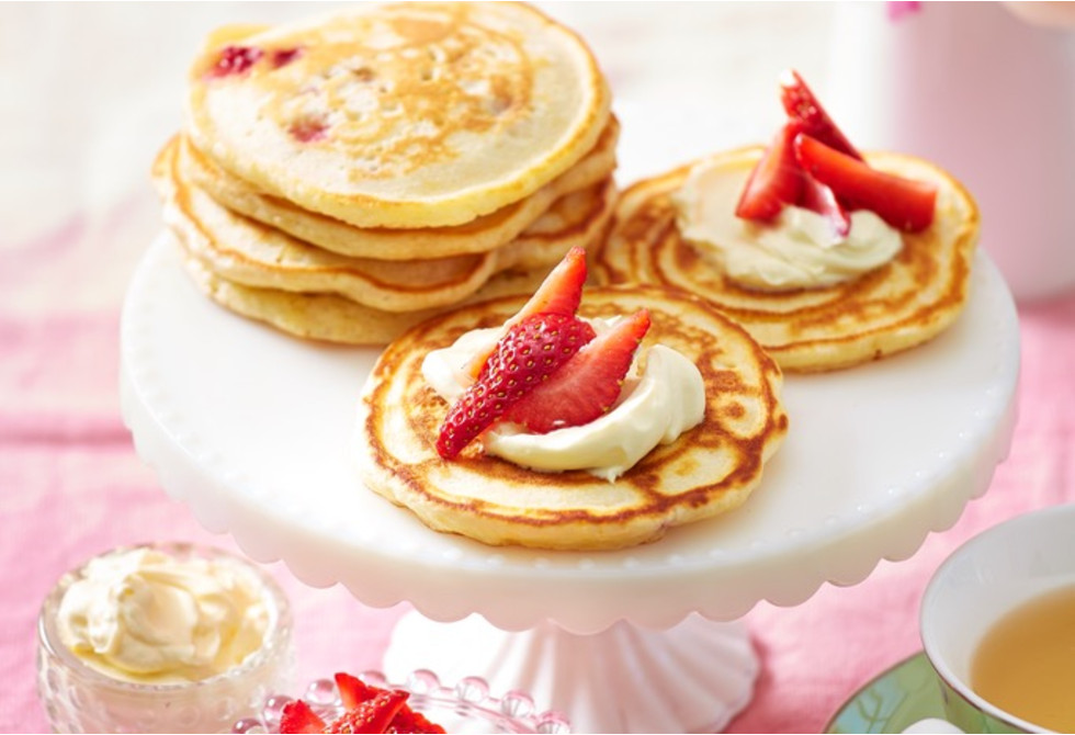 Strawberry Pikelets Recipe New Idea Food