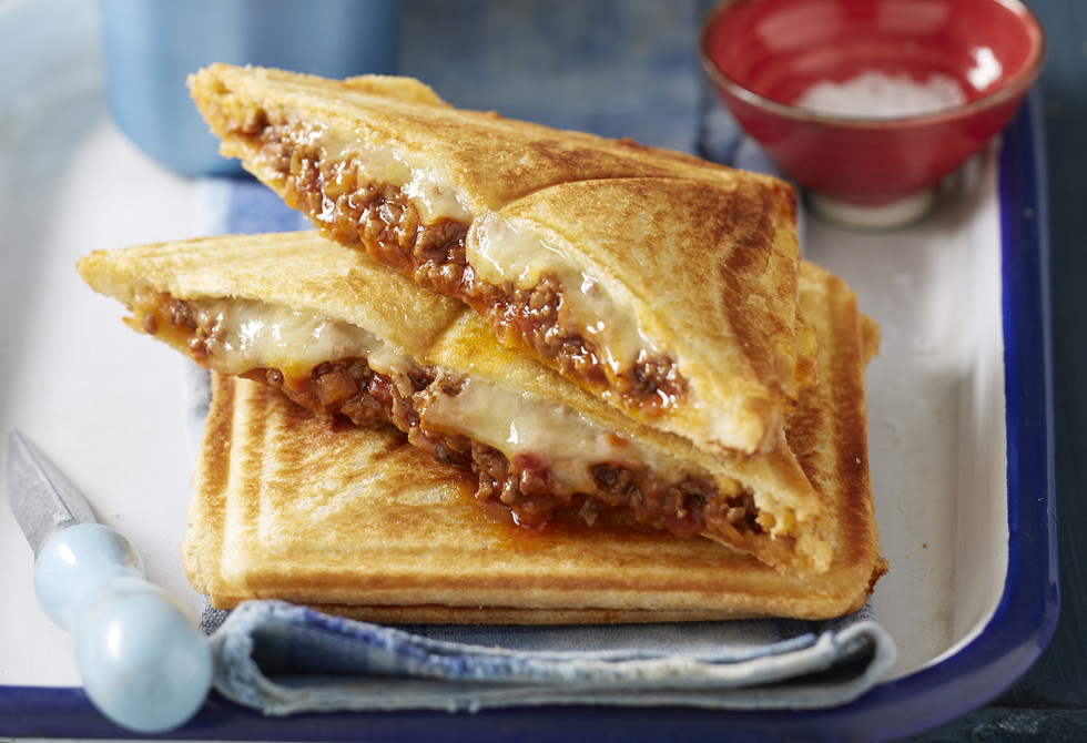 bolognese jaffles recipe new idea food
