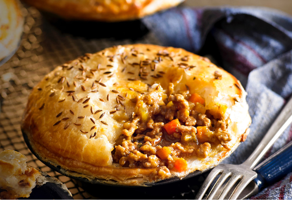 Individual Curried Beef Mince Pies Recipe New Idea Food