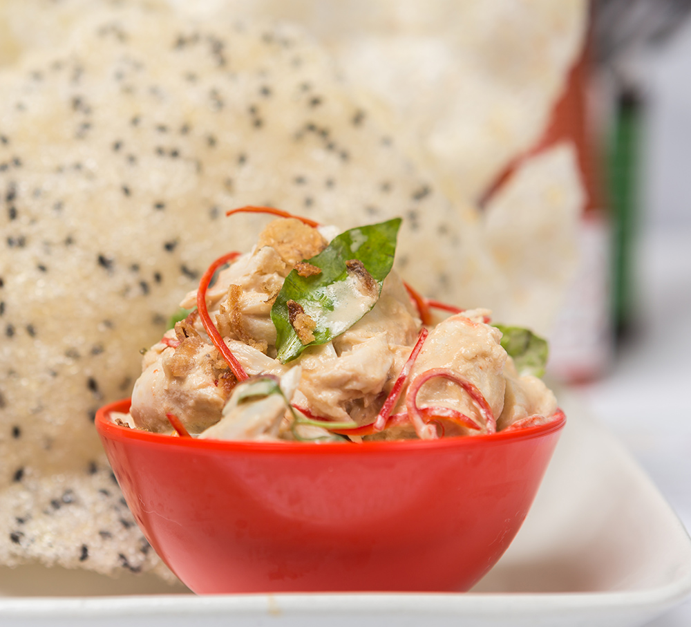 Saigon Lane use chilli in their crab with coconut and lime (Photo: supplied)