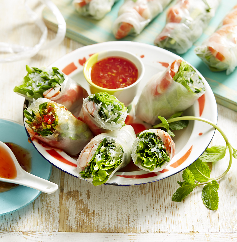 Nuoc cham can be paired with Vietnamese rice paper rolls (Photo: Benito Martin)